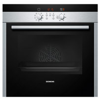 Siemens Built-In Oven Stainless Steel HB539E3M 60Cm  Black