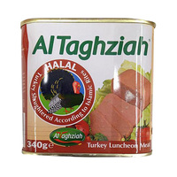 Al-Taghaziah Luncheon Turkey Meat 340GR