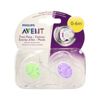 Philips Avent BB Contemporary Soothers 0-6 Months 2 Pieces
