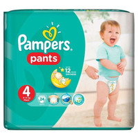 Pampers Diapers Maxi Pants Size 4 24 Pieces