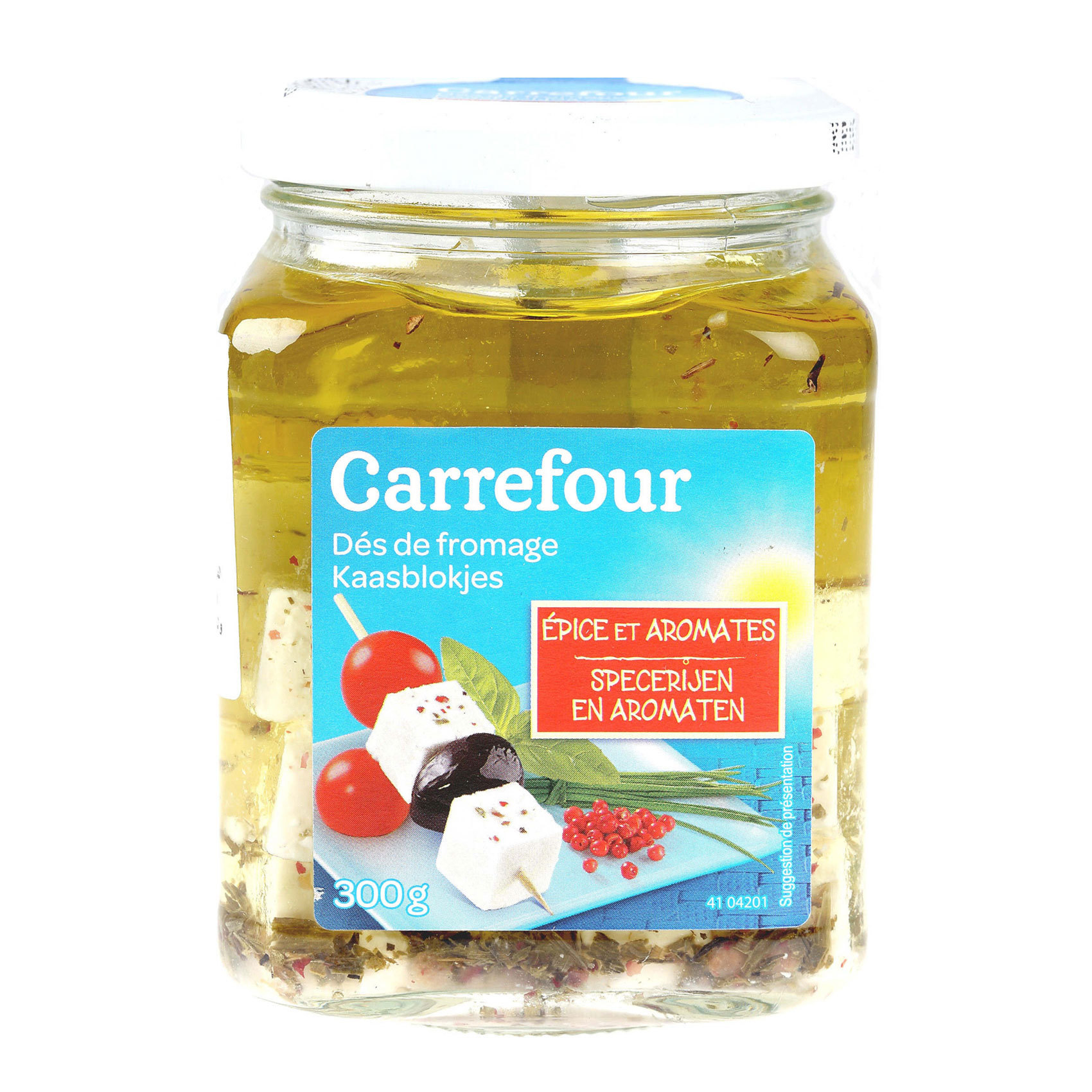 CRF FETA IN OIL 300G