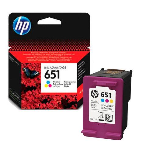 HP-Cartridge-651-Tri-Color