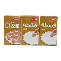 Kdd Thick Cream 250ml x3