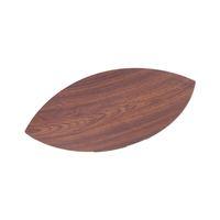 Evelin Wood Leaf Dish 25X45X3 Cm