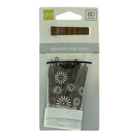 Qvs Brown Bobby Pins 80 Pieces