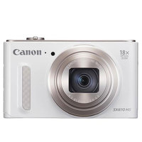 Canon Camera PowerShot SX610HS White + 4GB Card +Case