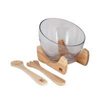 بيلي وعاء سلطة خشبي بحجم 23.5 سنتيميتر