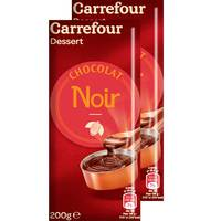 Carrefour Dark Chocolate 200g x2