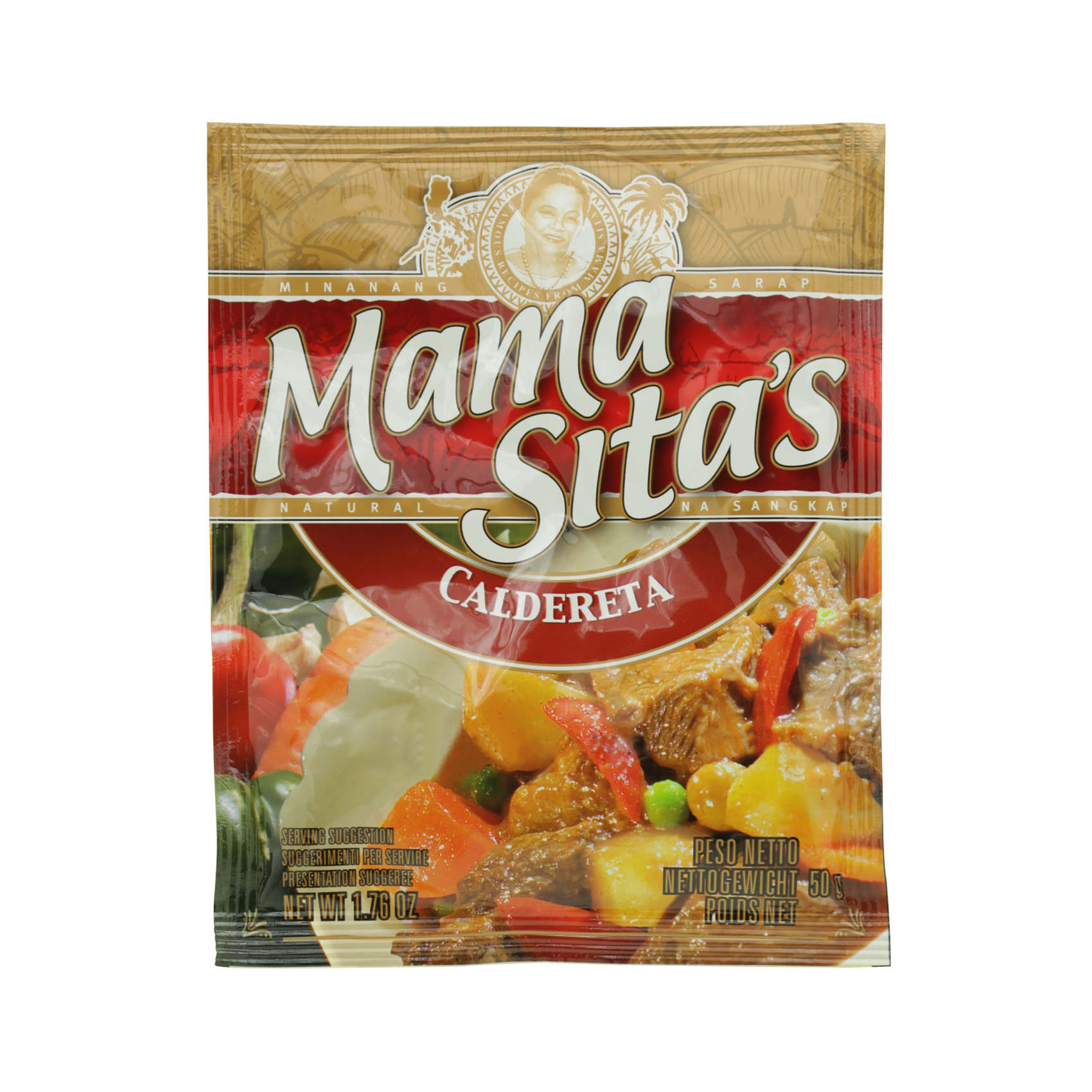 MAMASITA'S SPICY SAUCE MIX 50G