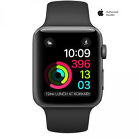 Apple Watch series-2 38mm Space Gray Aluminium Case With Black Sport Band