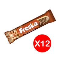 ويفر بالشوكولاتة من فرسكا - 26 جم عبوة من 12