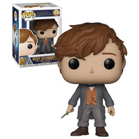 Funko Pop movies -Fantastic Beasts 2 -Newt Scamander (W/Chase)
