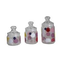 Luminarc Glass Jar Set 3 Pieces