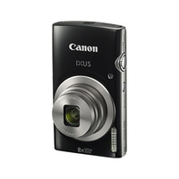 Canon Camera IXUS 185 Black + 8GB Card + Case