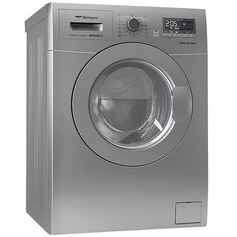 Bompani-8KG-Washer-And-5KG-Dryer-BO5283-Silver