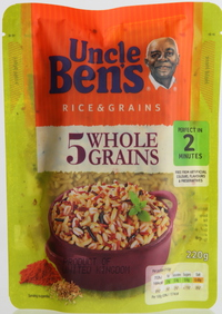 Uncle Ben's Rice & Grains 5 Whole Grains 220g