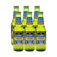 Cedar's Premium Non-Alcoholic Beer Regular 250ML X6