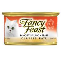 Purina Fancy Feast Classic Savory Salmon Wet Cat Food 85g