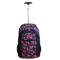 """Janboots Pink Roses Trolley 19"""""""