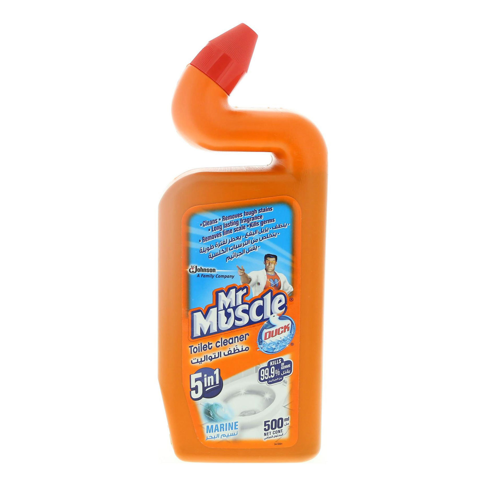 MR. MUSCLE TOILET DUCK MARINE 500ML