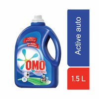Omo Active Auto Fabric Cleaning Liquid 1500ML
