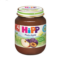 Hipp Mashed Plum & Apple From 4 Months 125GR