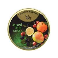 Cavendish & Harvey Drops Mixed Fruit 200GR