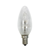 Ge Candle Halogen Lamp 20W E14240V
