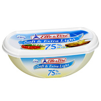 Elle & Vire Soft & Extra Light 75% fat Free 250 g