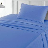 Tendance's Fitted Sheet Single Aqua Blue 99X193
