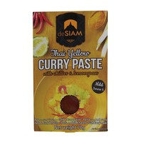 deSiam Thai Yellow Curry Paste With Chilies & Lemongrass Mild 70g