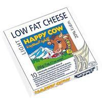 Happy Cow Light Cheese Slice 200g