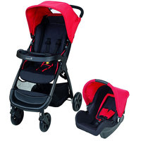 Safety 1st Amble Travel System (2 In 1) Plain Red