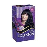 Koleston Natural Hair Color Kit  Blue and Black 2/8 60ML