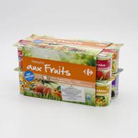 Carrefour Fruits Yoghurts 16 x 125 g