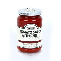 Vivebio Organic Tomato Sauce W Chilly 3