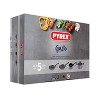 Pyrex Gusto Cooking Set Of 5 Pieces