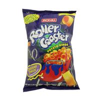 Jack n' Jill Roller Coaster Cheddar Cheese Potato Rings 225g