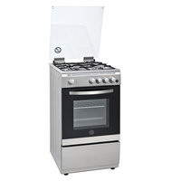 Hoover 50X60 Cm Gas Cooker FGC-50.00S 4Burners