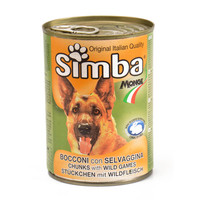 Simba Dog Food Chunks with Wild Games 400 g
