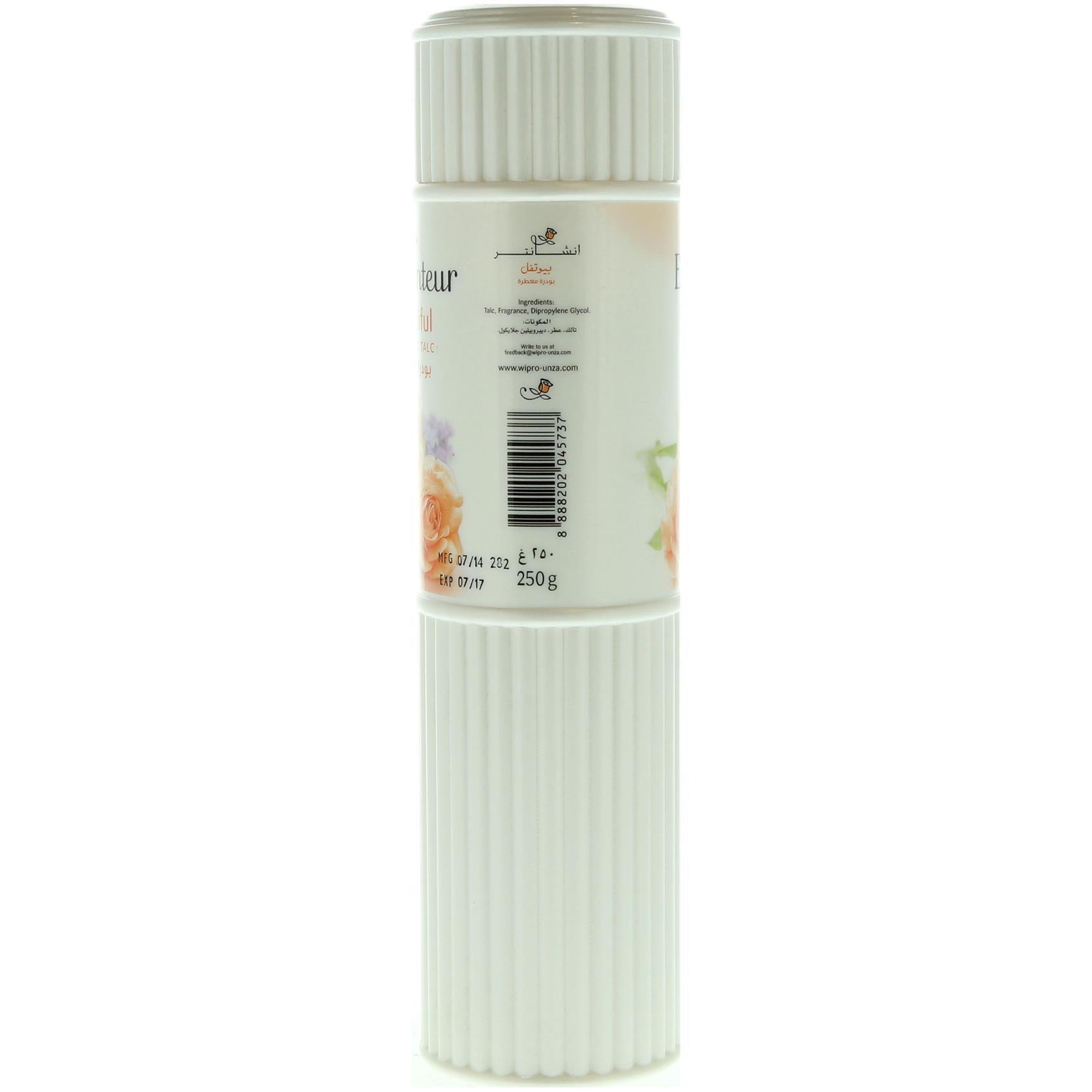 ENCHANTEUR PERFUME TALC DESIRE 250G