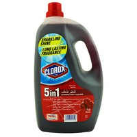 Clorox 5in1 Disinfectant Cleaner Rose 3L