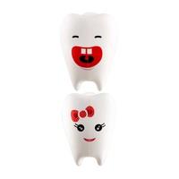 Flipper - 2 In1 Hahah & Kittie Toothbrush Holder - Flr-Tf-Hah