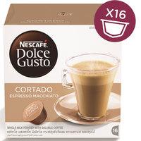 Nescafe® Dolce GustoEspresso Machiato, Cortado Coffee Capsules (16 Capsules, 16 Cups)