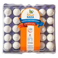 Saha White Large Eggs x30