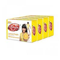 Lifebuoy Bar Lemon Soap 125GRX4-20% Off