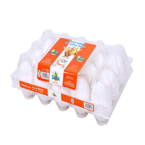 Saha-White-Medium-Eggs-x15