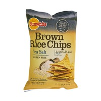 Sunwhite Brown Rice Chip Sea Salt 156g