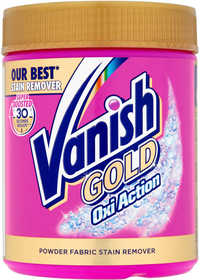 Vanish Gold Oxi Action Stain Remover Powder Pink 500g