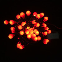 Indoor Hv Berry Light Chain 60Red Led 2,95M Steady N24